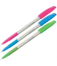 """Фото 1. Ручка шариковая Berlingo """"Perlamutik Pro"""" синяя, 0,7мм, грип"""