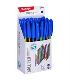 """Фото 3. Ручка шариковая Berlingo """"Triangle 100T Elements"""", 0,7мм, синяя"""