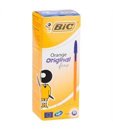"""Фото 3. Ручка шариковая Bic """"Orange"""" синяя, 0,8мм"""