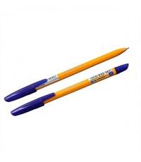 """Ручка шариковая """"Corona Plus"""" оранж. корпус, синяя, 0.7 мм"""