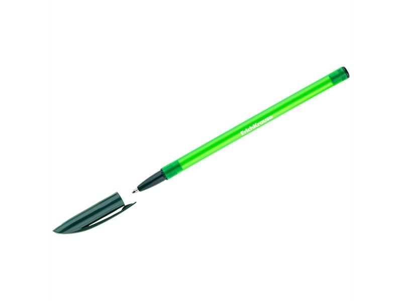 """Ручка шариковая Erich Krause """"R-101"""" зеленая, 1,0мм"""