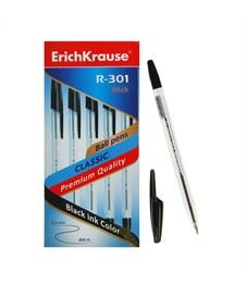 Фото 2. Ручка шариковая Erich Krause R-301 Classic черный 1.0 мм