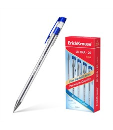 Ручка шариковая Erich Krause Ultra L-20, синяя