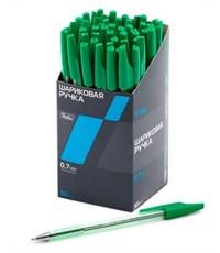Ручка шариковая Hatber, зеленая