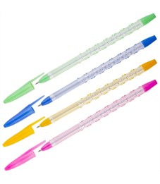 """Ручка шариковая OfficeSpace """"Fair"""" синяя, 0,7мм, корпус ассорти"""