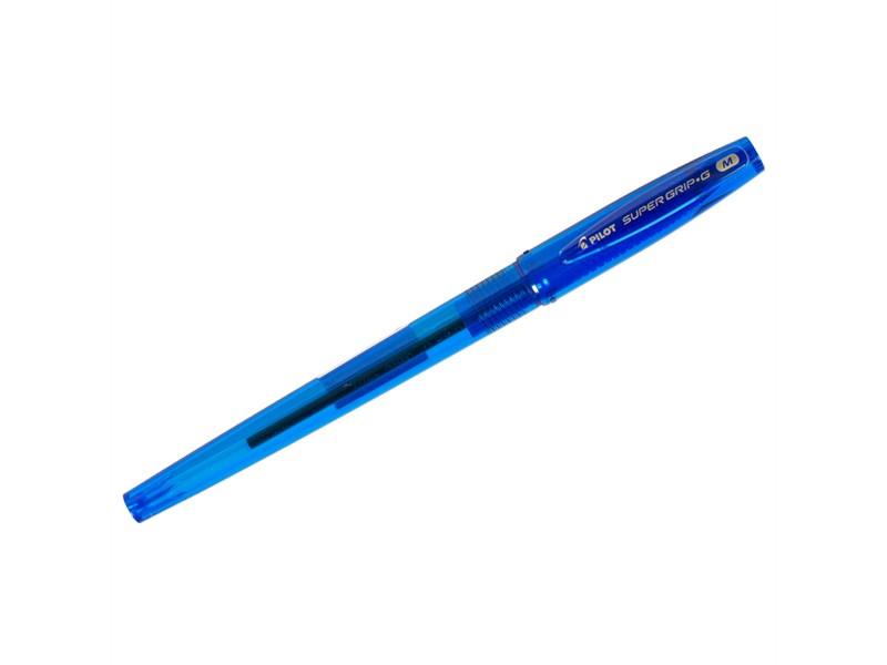 """Ручка шариковая Pilot """"Super Grip G"""" синяя, 1,0мм, грип"""