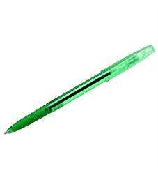"""Ручка шариковая Pilot """"Super Grip G"""" зеленая, 0,7мм, грип"""