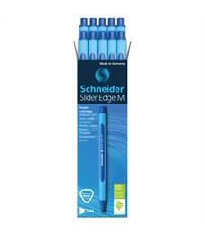 """Фото 2. Ручка шариковая Schneider """"Slider Edge M"""" синяя, 1,0мм, трехгранная"""