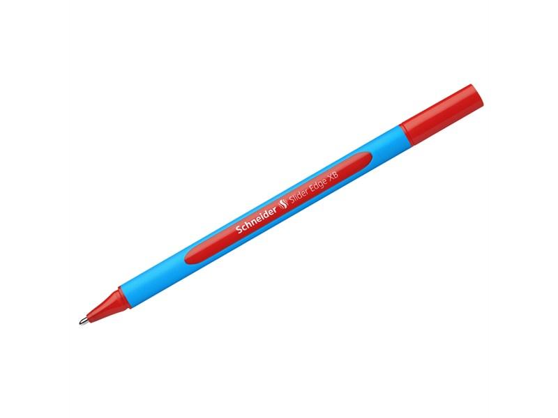 """Ручка шариковая Schneider """"Slider Edge XB"""" красная, 1,4мм, трехгранная"""