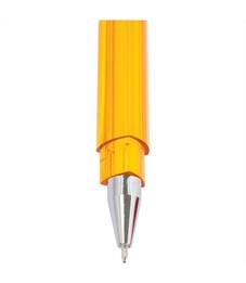 """Фото 2. Ручка шариковая Союз """"Tetra"""" синяя, 0,7мм, трехгранн., тонированный корпус"""