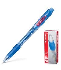 Ручка шариковая Stabilo Marathon, автоматическая, синяя