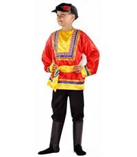 Русский народный костюм мальчик, Карнавалия