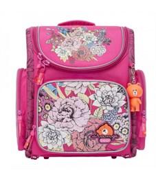 S-10 Flowers Рюкзак школьный (/1 фуксия - розовый)