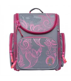 S-16 Classic Рюкзак школьный (/2 серый - розовый)
