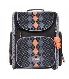S-22 Classic Рюкзак школьный (/3 черный - оранжевый)