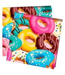 "Салфетки ПатиБум ""Пончики"", 24*24см, 12шт., европодвес"