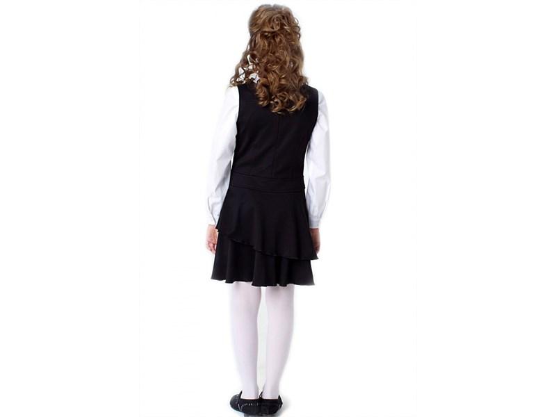 Сарафан школьный Инфанта 0207, черный