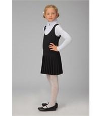 Фото 4. Сарафан школьный Инфанта с плиссированной юбкой, черный