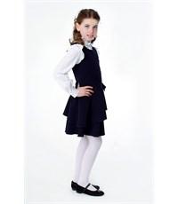 Фото 4. Сарафан школьный Инфанта с заниженной талией, синий