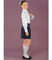 Фото 2. Школьная юбка Инфанта, синий 0309
