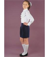 Фото 3. Школьная юбка Инфанта, синий 0309