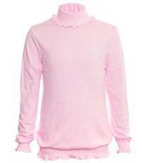 Школьная кофточка Снег для девочки розовая 1027-ДШ-08
