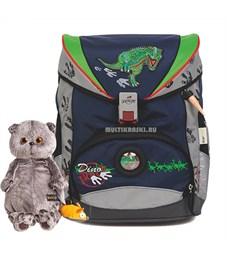 Школьный ранец DerDieDas След динозавра с наполнением