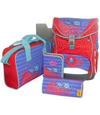 Школьный ранец DerDieDas Dolphin с наполнением 405033