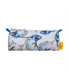 Фото 4. Школьный ранец DerDieDas Ergoflex Superflash Акула с наполнением