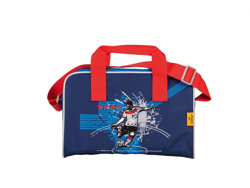 Школьный ранец DerDieDas ErgoFlex XL Футболист с наполнением