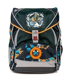 Школьный ранец DerDieDas ErgoFlex XL Мотоциклист с наполнением