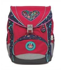 Школьный ранец DerDieDas Цветочная любовь с наполнением