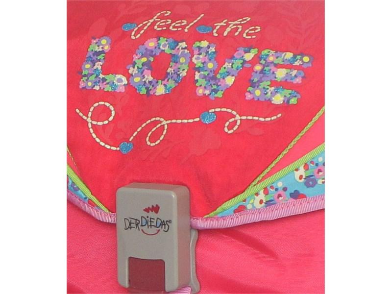 Школьный ранец DerDieDas Love с наполнением 405035