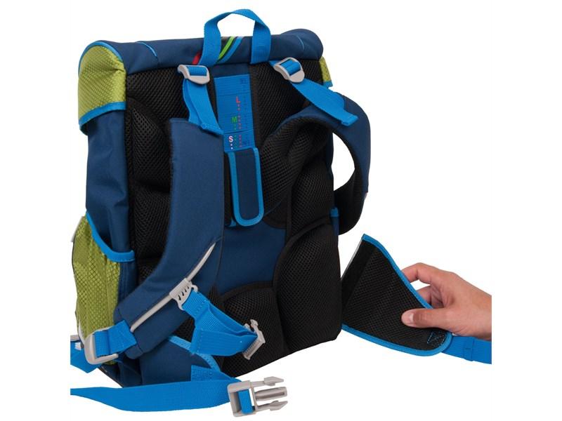 Школьный ранец DerDieDas Ergoflex Осьминог с наполнением