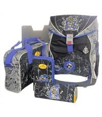 Школьный ранец DerDieDas Pirate 405030 с наполнением