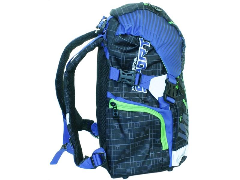 Рюкзак школьный Sternbauer Game ортопедическая спинка синие вставки