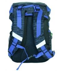 Фото 3. Рюкзак школьный Sternbauer Game ортопедическая спинка синие вставки