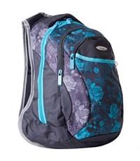 Школьный рюкзак Across G15-10 черный-голубой
