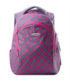 Школьный рюкзак Across G15-12 розовый горох