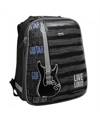 """Школьный рюкзак Mike Mar """"Гитара"""" черный"""