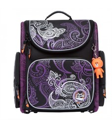 SI-16 Рюкзак (/1 черный - фиолетовый)