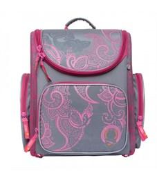 SI-16 Рюкзак (/2 серый - розовый)