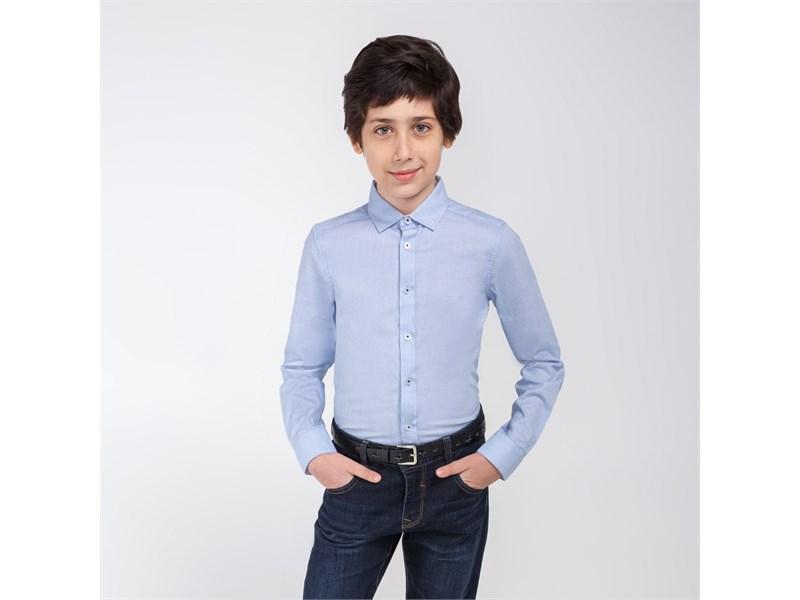 Сорочка для мальчиков Acoola Mendel голубой