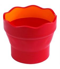 """Фото 3. Стакан для воды Faber-Castell """"Clic&Go"""", красный"""