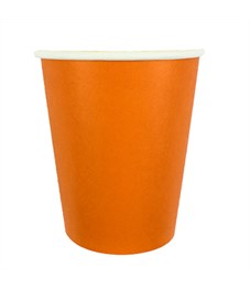 "Стаканы бумажные ПатиБум ""Orange"", 250мл, 6шт., европодвес"