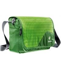 Сумка школьная Deuter Attend 85043-2012 зеленая клетка