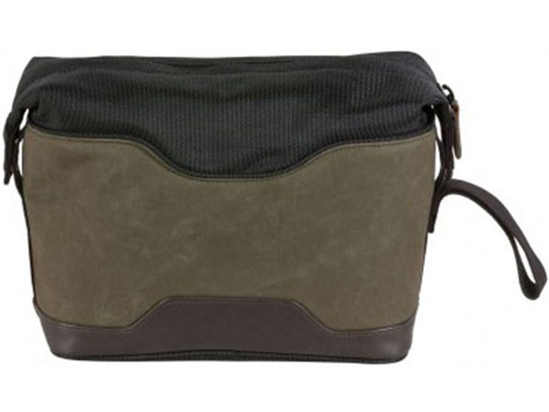 Сумка для ноутбука Quer 17 оливковая КОЖА+ТЕКС 882400-401