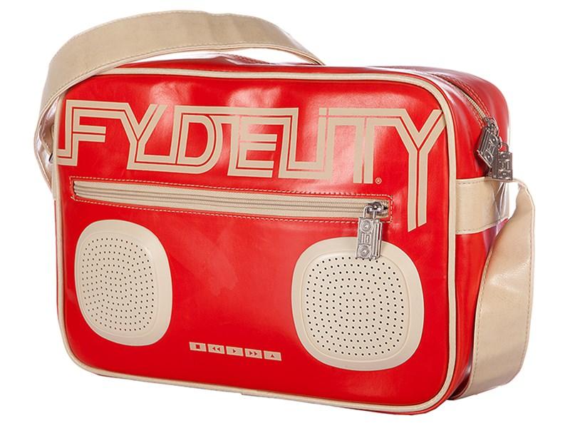 Сумка Fydelity G-Force Shoulder Bag красная