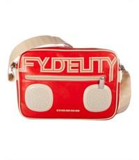 Фото 3. Сумка Fydelity G-Force Shoulder Bag красная