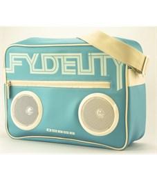 Сумка Fydelity G-Force Sh-Bag Straight Blu бирюза с желтым